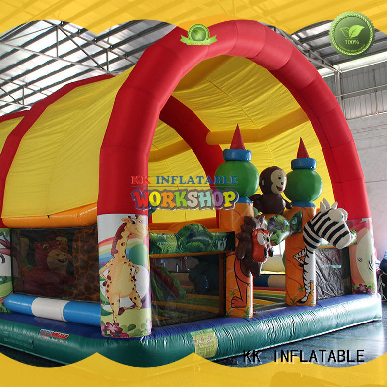 indoor inflatables bounce house for amusement park KK INFLATABLE