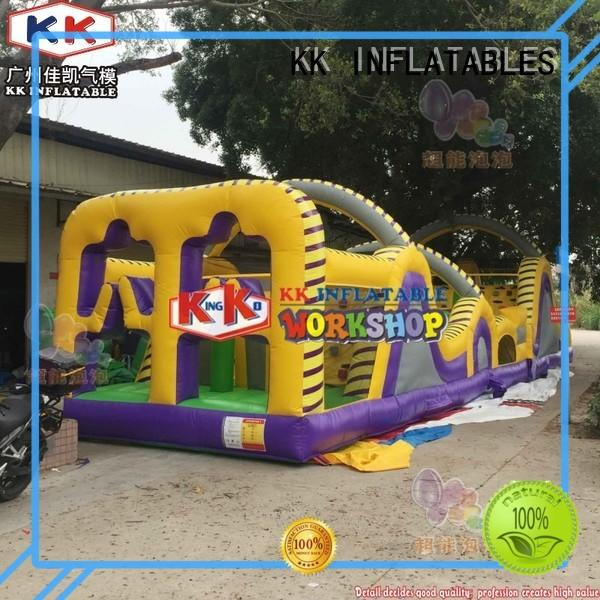 KK INFLATABLE multifuntional inflatable obstacles manufacturer for adventure