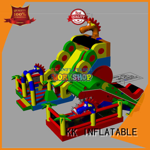 KK INFLATABLE funny indoor inflatables colorful for amusement park
