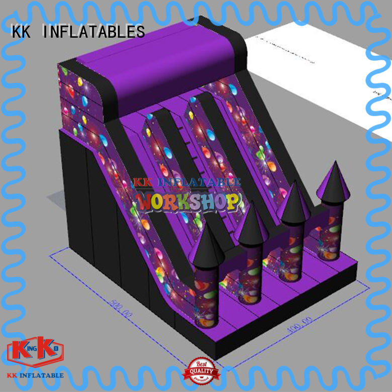 hot selling backyard water slide supplier for parks KK INFLATABLE