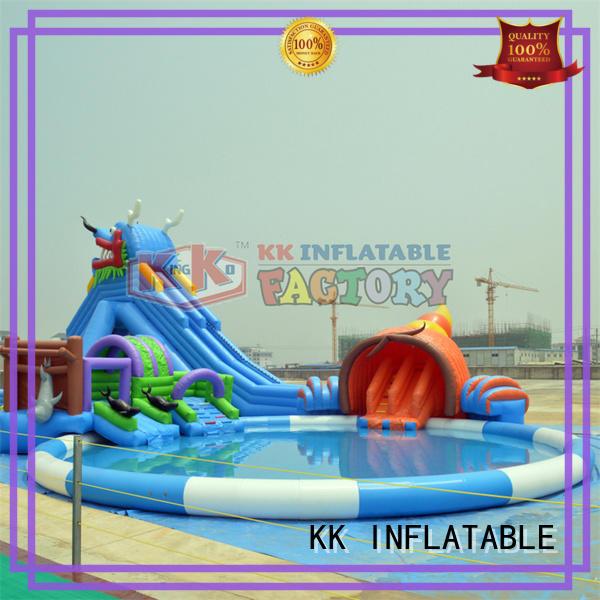 KK INFLATABLE cartoon inflatable theme park animal modelling for seaside