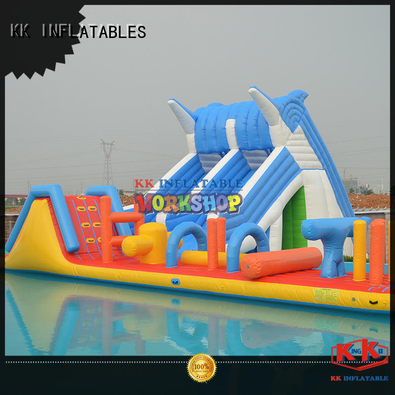 durable kids inflatable water park factory price for paradise KK INFLATABLE