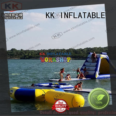 custom kids inflatable water park manufacturer for beach