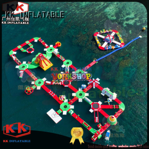 KK INFLATABLE creative design inflatable water playground supplier for seaside