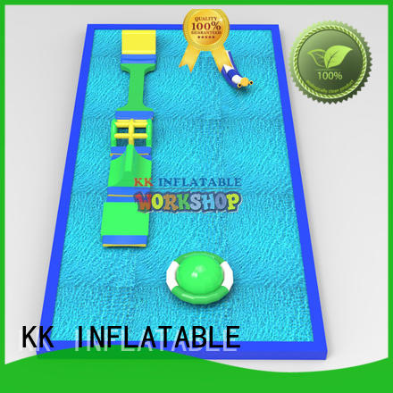 KK INFLATABLE custom inflatable water playground good quality for seaside