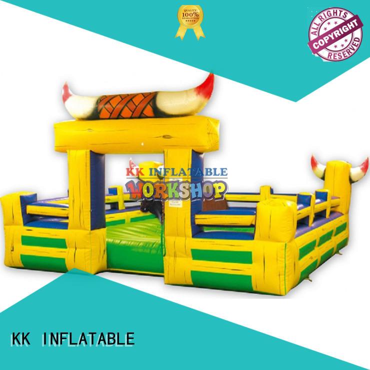 kids climbing wall long for for amusement park KK INFLATABLE