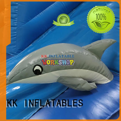 inflatable water slide giant for paradise KK INFLATABLE