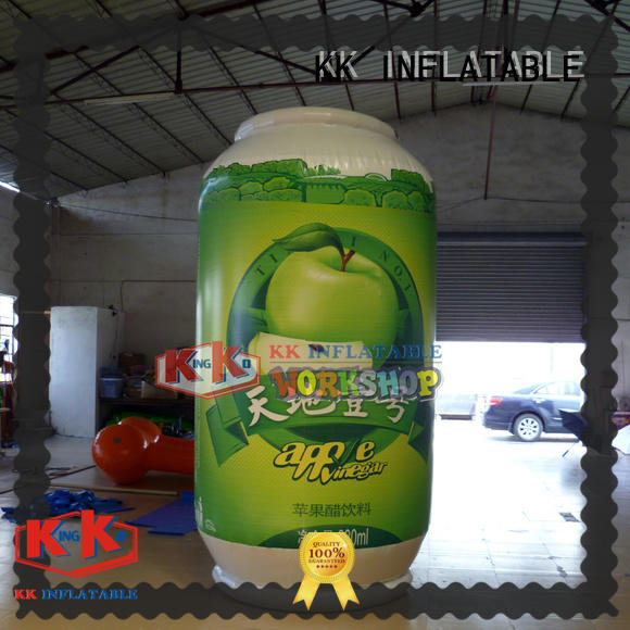 KK INFLATABLE popular inflatable man manufacturer for shopping mall