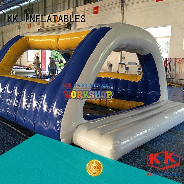 truck bouncy slide colorful for swimming pool KK INFLATABLE