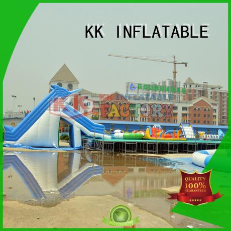 KK INFLATABLE dinosaur inflatable theme playground supplier for paradise