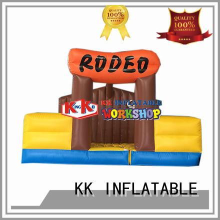 KK INFLATABLE Brand kid rock custom inflatable climbing wall