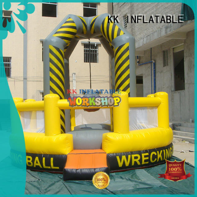 large slide pool inflatable playground tarpaulin for party KK INFLATABLE